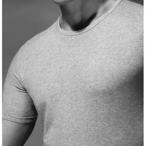 T-shirt cotone elasticizzato